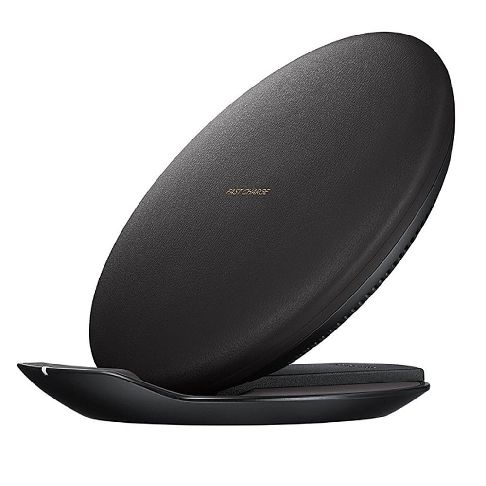 Samsung Wireless charger Convertible with travel Adapter (Black)
