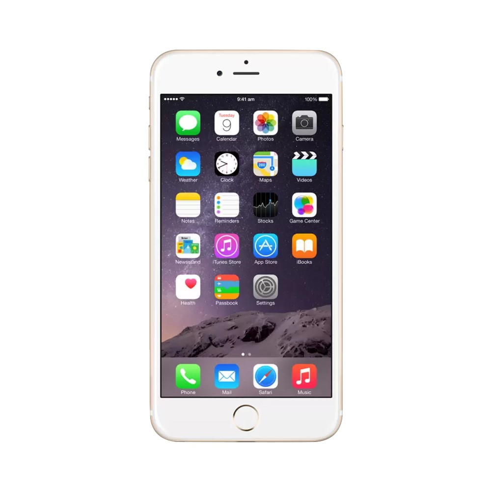 Certified Pre-Owned Apple iPhone 6 Plus (Gold, 16GB, RAM 1GB) (Perfect Condition with 1-Year Warranty)