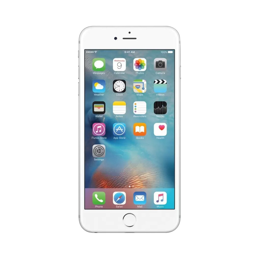 Certified Pre-Owned Apple iPhone 6s Plus (Silver, 16GB, RAM 2GB) (Perfect Condition with 6-Months Warranty)