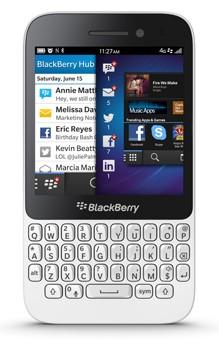 BlackBerry Q5 (8 GB) White