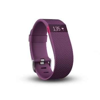 Fitbit Charge HR  Plum (Large)